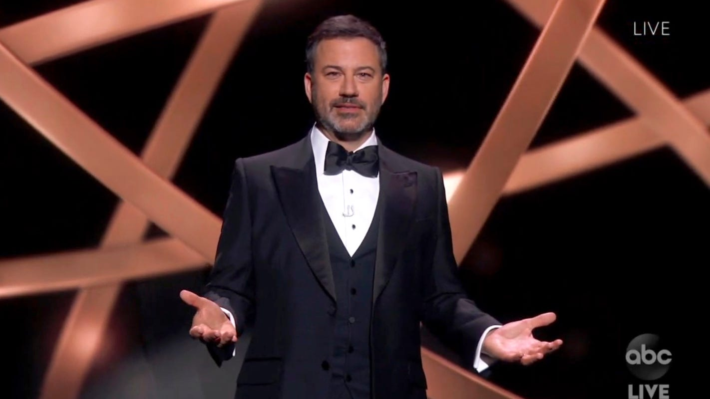 Jimmy Kimmel blasts Donald Trump after report says he tried to investigate late-night shows