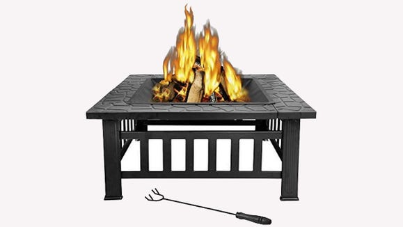 Roast  hot dogs, burgers, steaks and S'mores—or just enjoy a little warmth on cool days and nights.