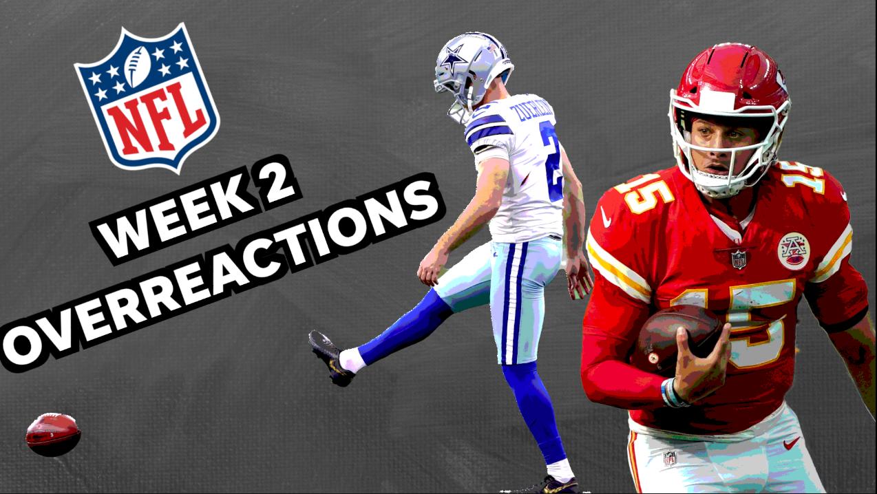 NFL Week 2 overreactions: Cowboys miracle, vintage Chiefs comeback and injuries define dramatic weekend