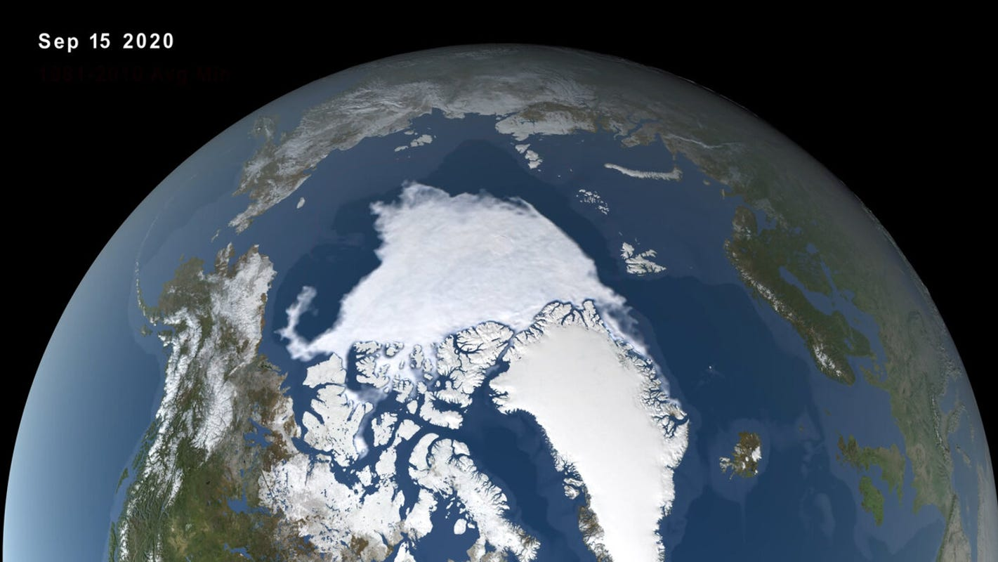 'A crazy year up north:' Arctic sea ice shrinks to 2nd-lowest level on record