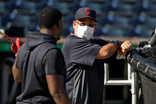 Indians manager Terry Francona, who missed a significant portion of the 2020 season, is back at spring training and feeling better than he did last summer. [Gene J. Puskar/Associated Press]