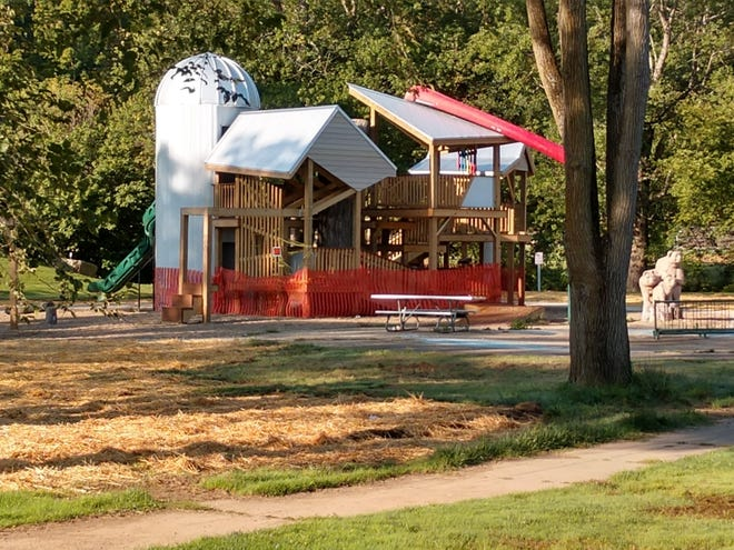Riverside Park Treehouse in Loudonville will be dedicated Tuesday, Oct. 6 at 5:30 p.m.
