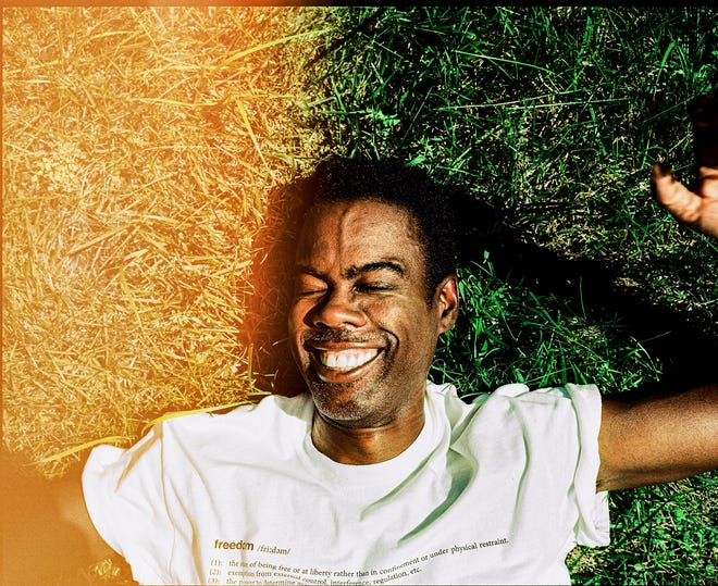"""Chris Rock, at his home in New Jersey on Sept. 8, plays a mannered, methodical crime lord in 1950s Kansas City for the upcoming season of """"Fargo."""""""