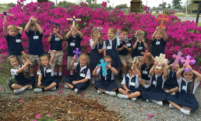 St. Genevieve Catholic Church and School raised $37,315 during last year's #iGiveCatholic campaign, the fourth highest in the Diocese of Houma-Thibodaux. The money was used to furnish the school's new media center.