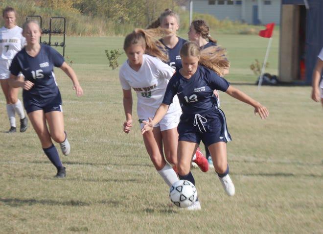 JoJo Wallace and Crookston girls' soccer is 2-6 on the season.
