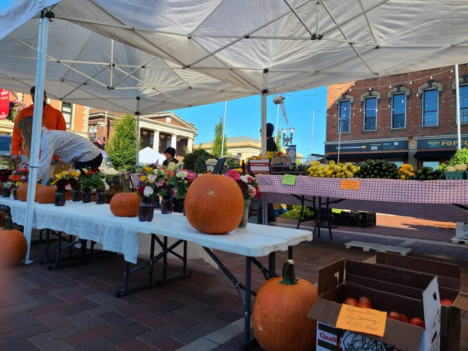 The Wooster Farmers Market takes place downtown every Saturday from 9 a.m. to noon until Oct. 10.