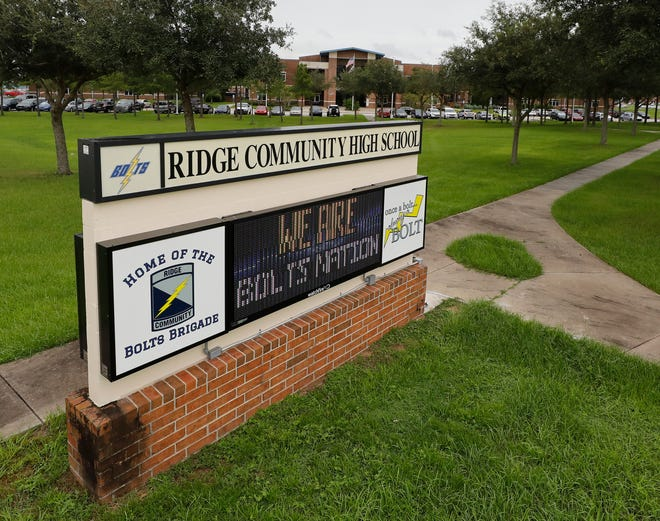 Ridge Community High School in Davenport was reported among the new Polk County Public Schools with a positive COVID-19 test in the latest report from school district officials.