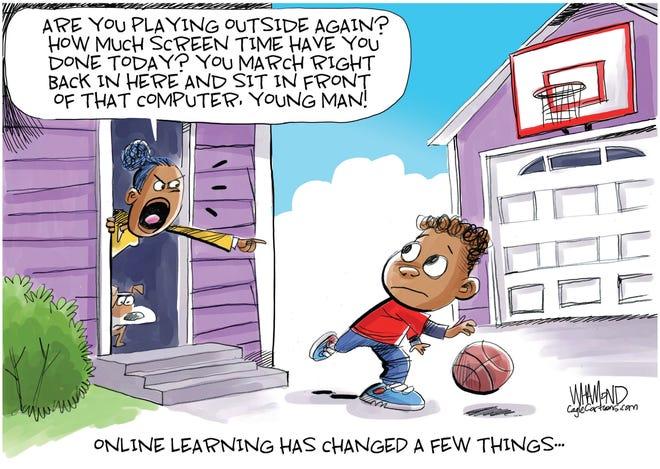 Jase Graves column cartoon