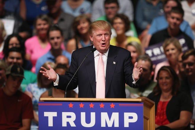 OSKALOOSA, IA - President Donald Trump has held numerous political rallies despite COVID regulation. [Photo by Scott Olson/Getty Images]