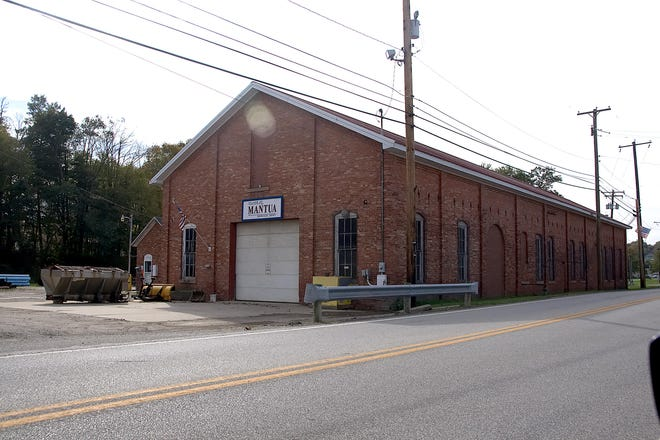 The Mantua water plant, as seen in this file photo.