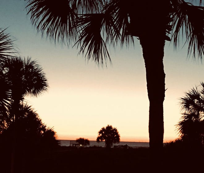Waiting for the sunrise on St. Augustine Beach.