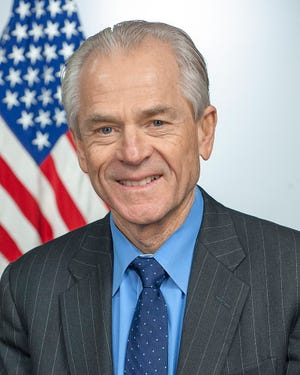 Peter Navarro, Assistant to the President, Director of Trade and Manufacturing Policy.