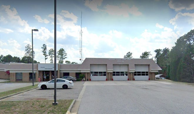 The Spring Lake Fire Department building on Ruth Street.
