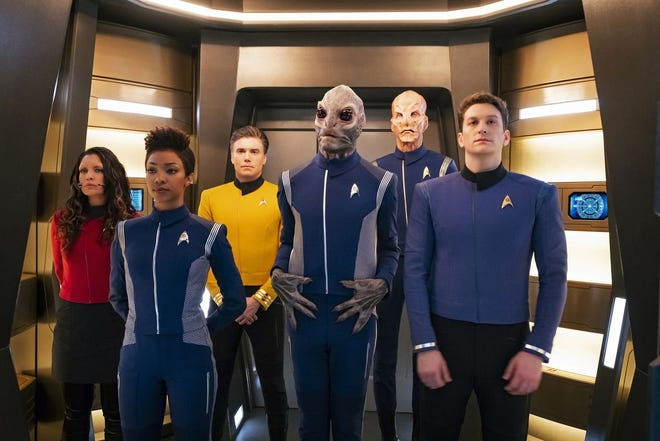 """""""Star Trek: Discovery"""" was the second series to be featured on CBS All Access."""