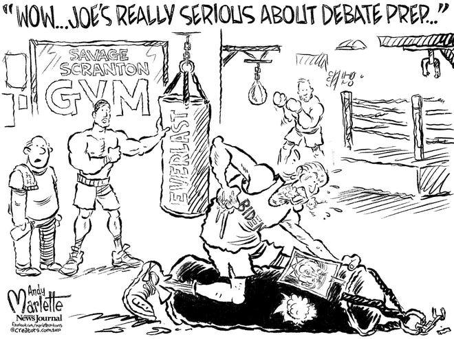 Biden working himself up for upcoming debate