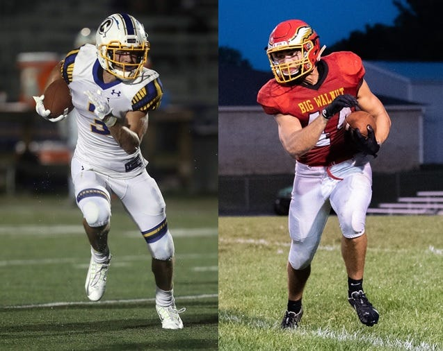 Caleb Gossett of Olentangy and Caden Williams of Big Walnut share our Friday Night Live Player of the Week honor for Week 4.