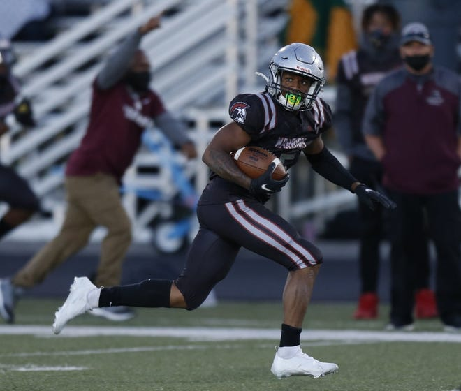Rahshaun Goines and Harvest Prep will play host to Bexley on Friday, Sept. 25, in an MSL-Ohio game.