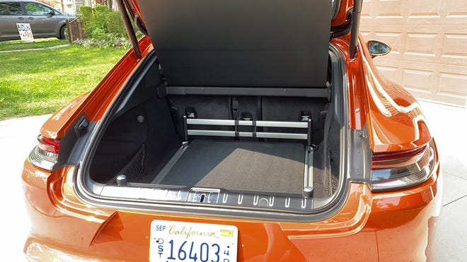 Porsche Panamera Turbo S trunk,