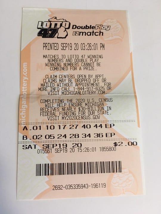 Tiket kalah dari undian Lotto 47 Sabtu malam. Tidak ada pemenang, dan rollover $ 20,1 juta pada hari Rabu adalah yang tertinggi ketiga untuk permainan tersebut.