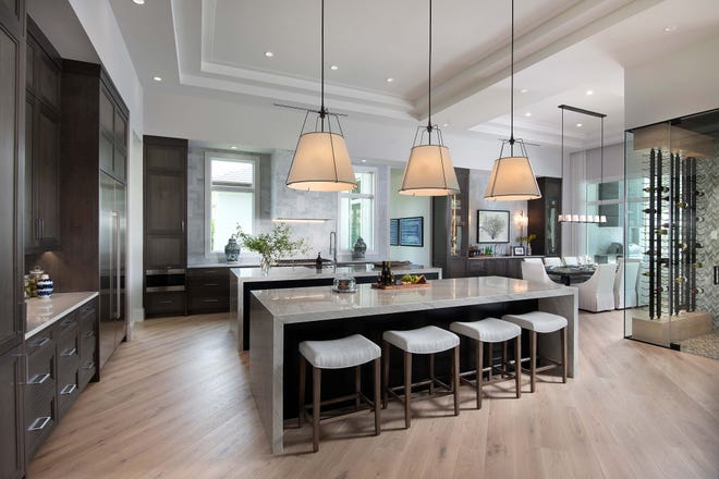 Seagate Development Group's previously sold Streamsong model at Quail West features an interior created by Theory Design's Vice President of Design Ruta Menaghlazi.