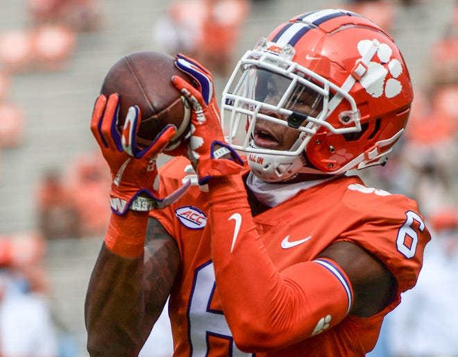Clemson wide receiver E.J. Williams will change his uniform number to 39 Saturday to honor his late father on Military Appreciation Day.