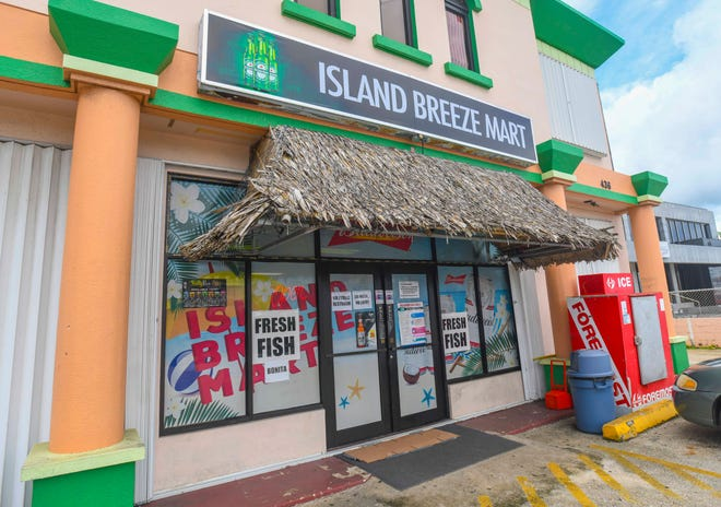 The Island Breeze Mart in Tamuning on Tuesday, Sept. 22, 2020.