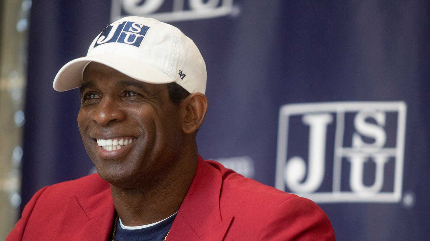 New Jackson State coach Deion Sanders already offering recruits, says he has staff ready