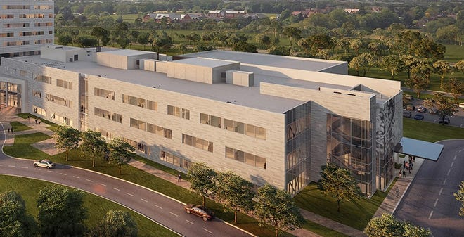 McLaren's new $600 million state-of-the-art health care campus was designed from the ground up with the involvement of the hospital's staff and physicians.