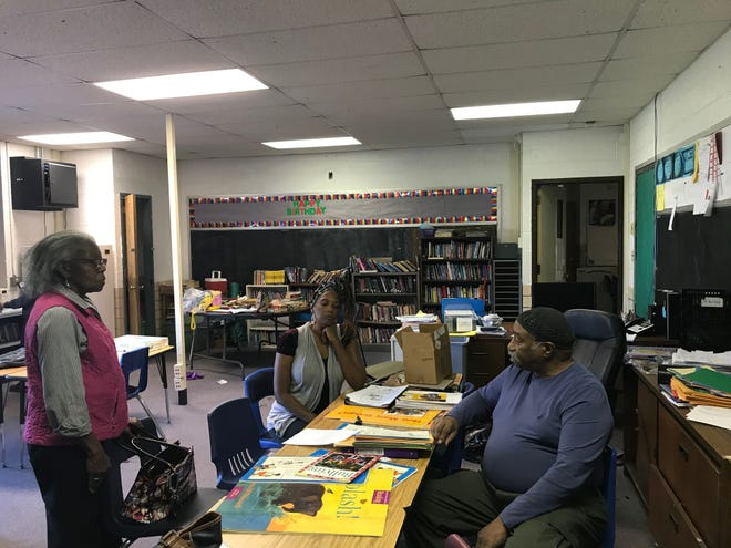 Yolanda Allen, Carla James and Demone Shoulders announced that Culliver Reading Center is permanently closed and all books, musical instruments, tables, chairs and bookshelves and more are being sold at an online auction this week.