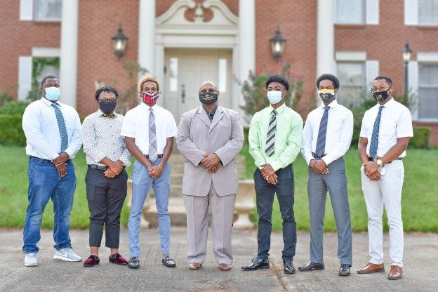 Grambling State's Call Me MiSTERinitiative targets the 11 teacher preparation programs currently offered. The first cohort consists of seven students:three from Louisiana and oneeach from Texas, Florida, Nevada, and California.