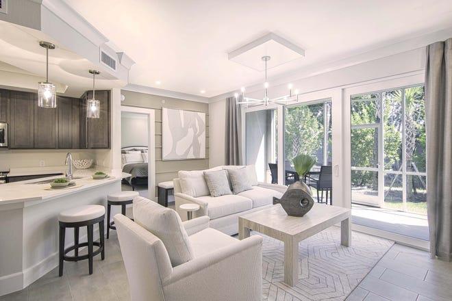 The Saba model at Antilles shows off an open living concept.