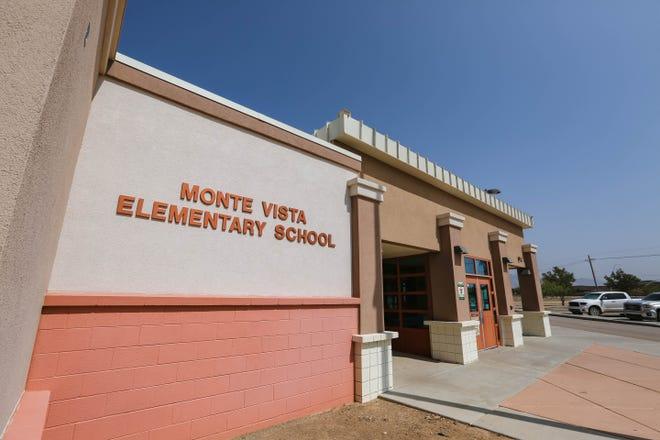 Monte Vista Elementary School in Las Cruces.