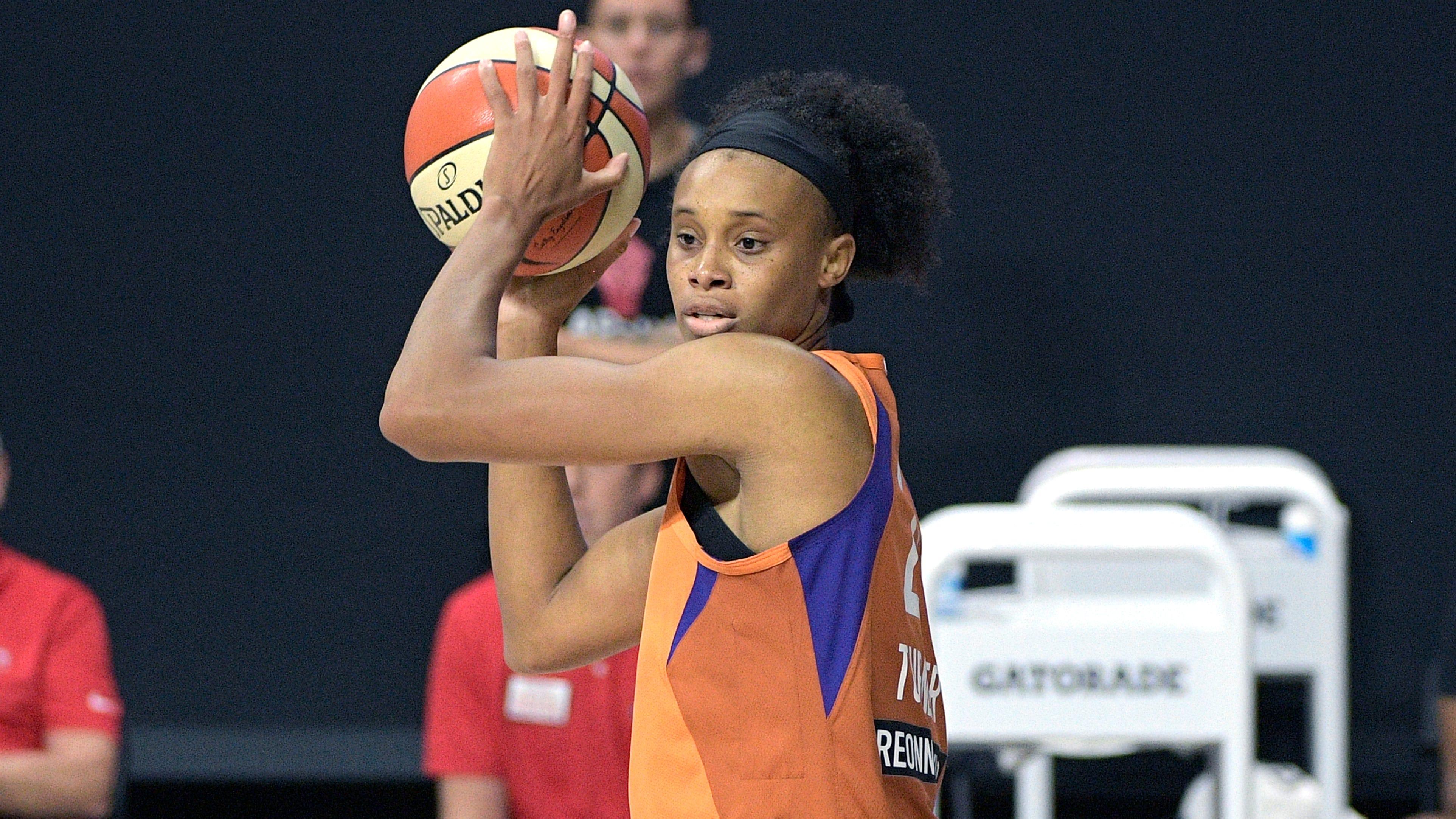 Phoenix Mercury forward Brianna Turner