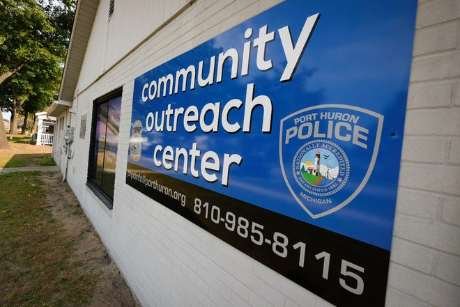 The Port Huron Police Department had a grand opening for its community outreach center at 2529 Manuel St. on Tuesday, Sept. 22, 2020.