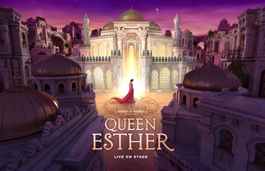 "Set in the Persian Empire, ""Queen Esther"" is a tale of ""beauty and bravery,"" according to Sight & Sound Theatre, which is showing the live play this season."