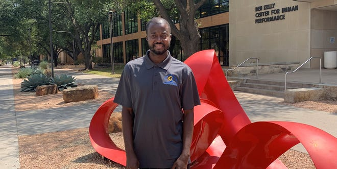 Bill Rogers, a Angelo State University graduate student from Liberia, has been selected to receive the 2020 Nelson Mandela Freedom Award