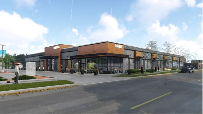 A rendering of the the former Save A Lot building could look like as the new Senior Activity Center.