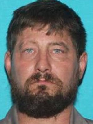 Tyson Shawn Wessels, 42, is suspected to have stolen a 2004 blue Ford F-250 crew cab with an Iowa license plate of 616-ZCO.