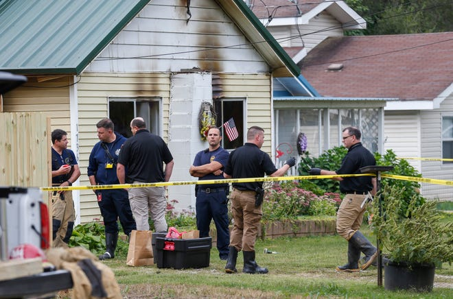 Springfield Police and Fire Departments were at the scene of a fatal fire on the 1700 block of West Lombard Street on Tuesday, Sep. 22, 2020.