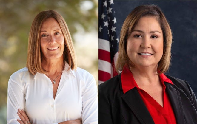 Incumbent Jacqui Irwin and challenger Denise Pedrow are candidates to represent the 44th District of the California Assembly.