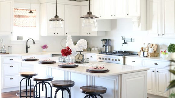 Get rid of the old look for a new, updated version of your kitchen.