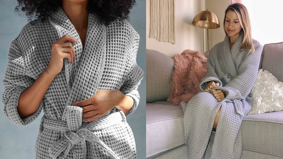 Our testers loved the Brooklinen Waffle Robe, and it's now on sale.