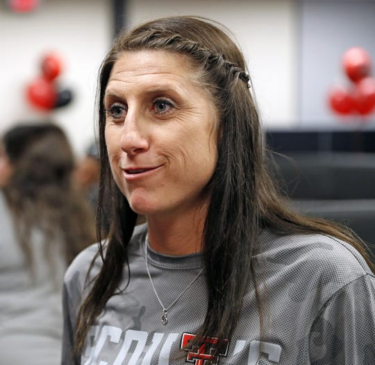 Adrian Gregory had been the women's softball coach at Texas Tech since 2015.