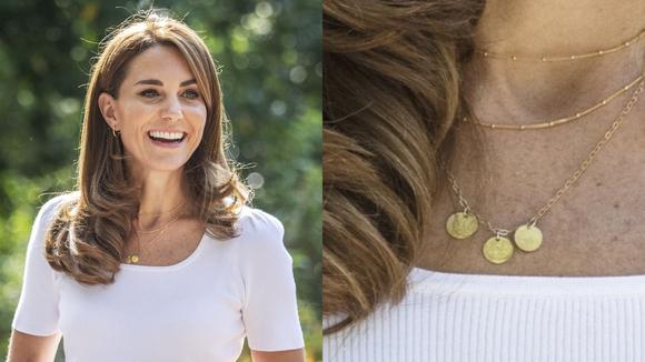 Where to buy Kate Middleton's monogram necklace