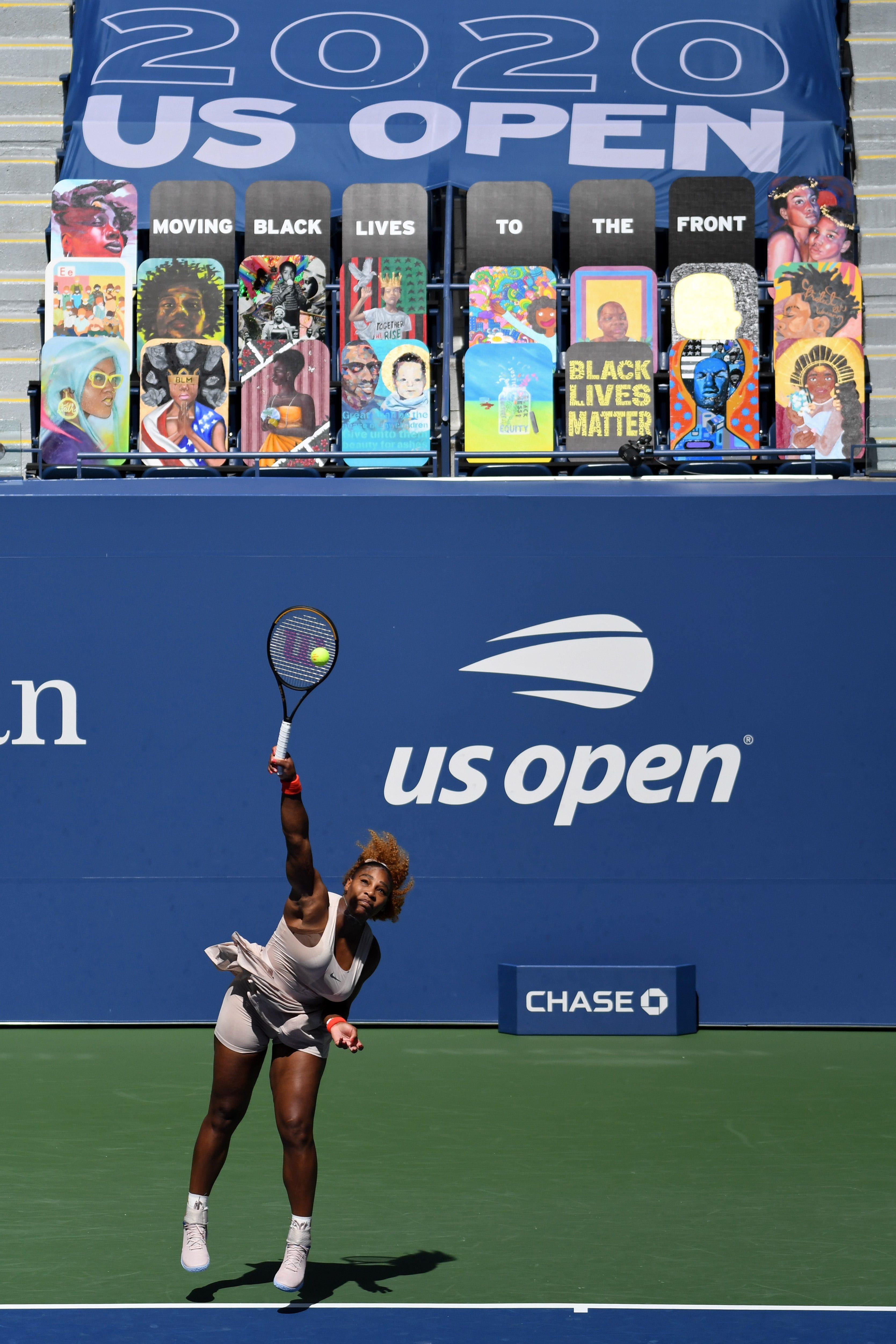 Serena Williams at U.S. Open