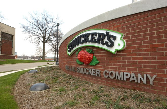 The J.M. Smucker Company's trademark double strawberry image is being replaced as the Orrville company's main logo in a new branding campaign. The older logo will continue to be used in packaging for the company's signature jellies and jams.