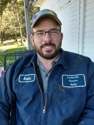 Kevin Endslow, one of three steer advisers in the Loudonville Livestock Club, stresses that success of the Livestock Club is very much a group effort.