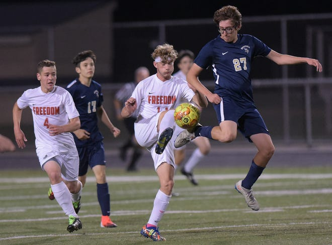 Hopewell and Freedom boys soccer teams head to WPIAL playoffs in Class 2A action. Hopewell's boys took Quaker Valley's spot in the tournament following a COVID-19 breakout in the Quaker Valley School District that halted all athletic and extracurricular activities.