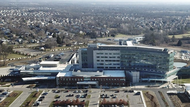 Mount Carmel medical campus in Grove City is located near I-71 and State Route 665. It's seen here in December 2018.