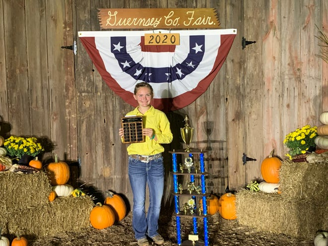 Avery Vasko, was named Supreme Showman for the 2020 Guernsey County Jr. Fair.